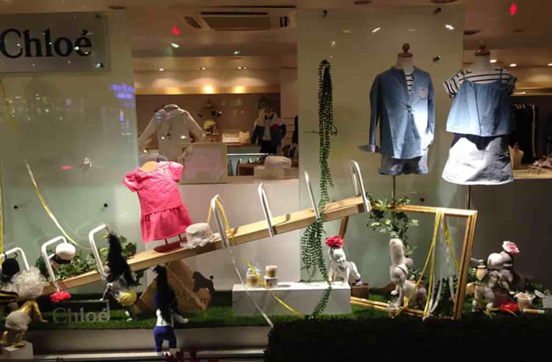 window display@Ma・mere – 広尾&ホテルニューオータニ東京